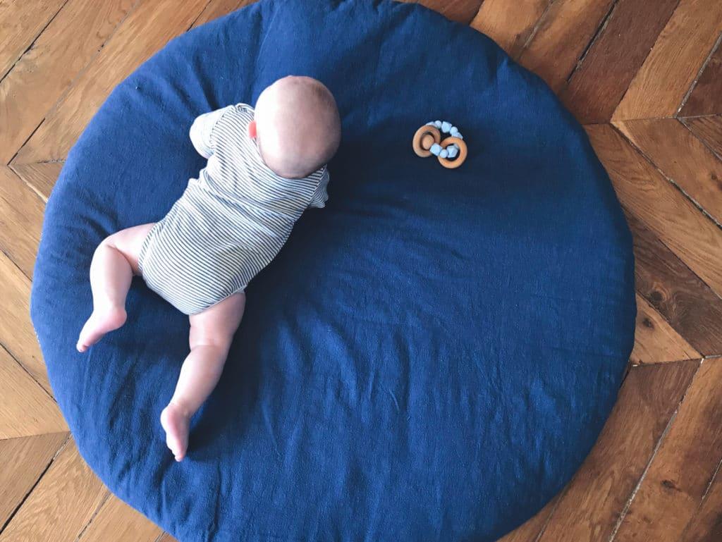 Voici votre tapis d'éveil terminé